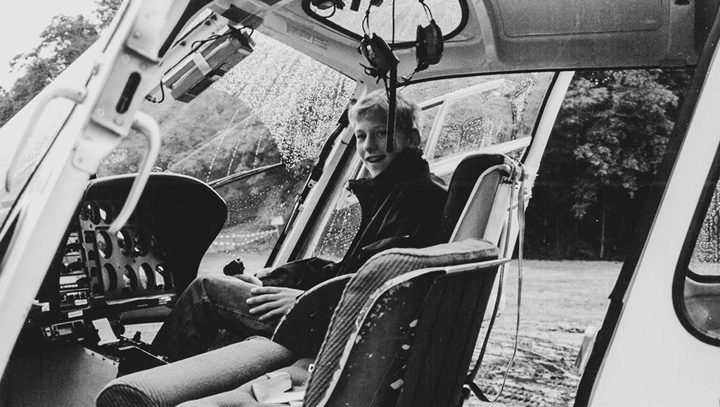 Berufswunsch Hubschrauberpilot